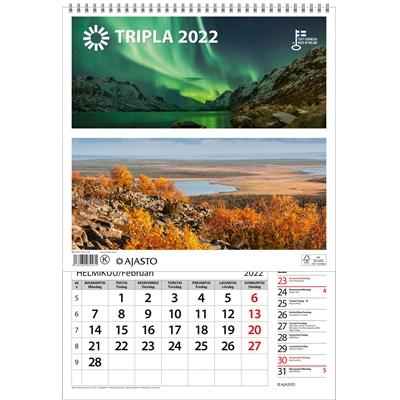 Tripla  2022 seinäkalenteri - Ajasto