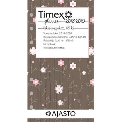Timex 7 Planner -lukuvuosipaketti 18 kk 2017-2018