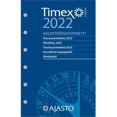 Timex Handy -vuosipaketti 2022 taskukalenteri - Ajasto