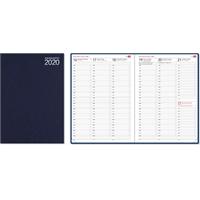 Aikamuistio 2020 ommeltu pöytäkalenteri - CC Kalenteripalvelu