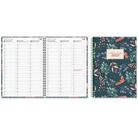 Aikamuistio 2021 wiresidottu magnolia pöytäkalenteri - CC Kalenterit