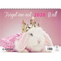 Forget-me-not-wall 2020 seinäkalenteri - Ajasto