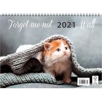 Forget-me-not-wall 2021 seinäkalenteri - Ajasto
