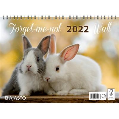 Forget-me-not-wall  2022 seinäkalenteri - Ajasto