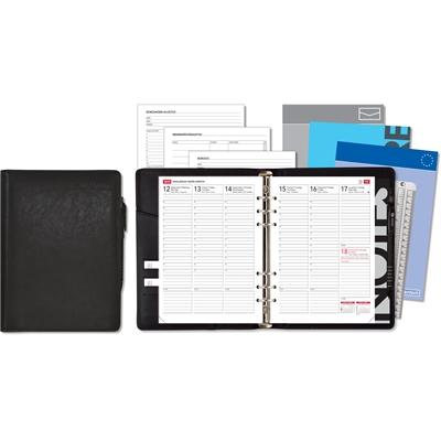 Notare 2018 musta pöytäkalenteri