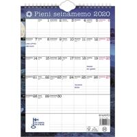 Pieni seinämemo 2020 seinäkalenteri - Ajasto