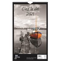 C'est la vie! 2021 seinäkalenteri - Ajasto