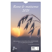 Runo ja maisema 2021 seinäkalenteri - Ajasto
