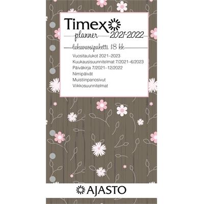 Timex Planner -lukuvuosipaketti 2022 taskukalenteri - Ajasto