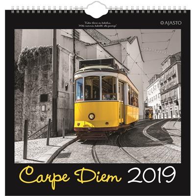 Carpe Diem 2018 seinäkalenteri