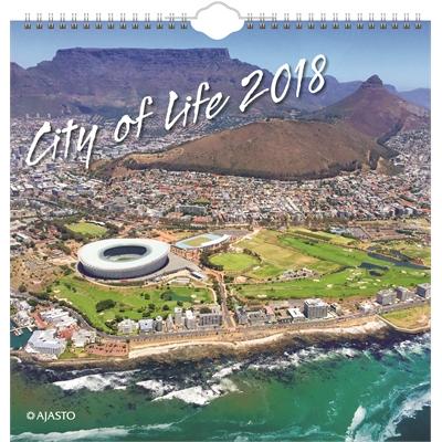 City of Life 2018 seinäkalenteri