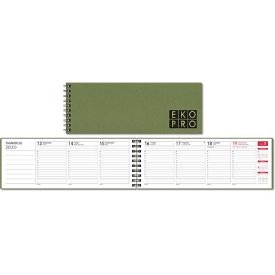 EkoPro 2020 vihreä pöytäkalenteri - CC Kalenteripalvelu