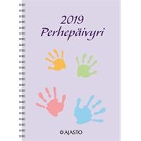 Perhepäivyri A5 2019 pöytäkalenteri