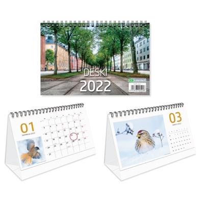 Deski 2022 pöytäkalenteri - CC Kalenterit