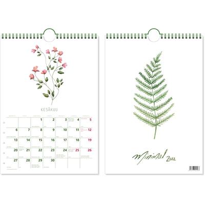Minimal 2022 pöytäkalenteri - CC Kalenterit
