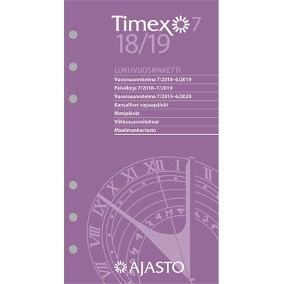 Timex 7-lukuvuosipaketti 2017-2018