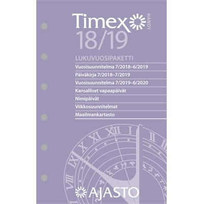 Timex Handy -lukuvuosipaketti 2017-2018
